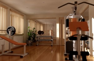 marin county home gym