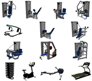 types of weight machine