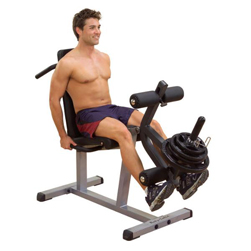 Seated Leg Extension & Supine Curl