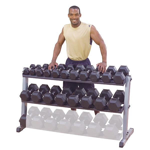 2 or 3-Tier Dumbbell Rack