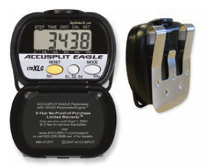 Accusplit Eagle My Calorie Multi-Function Pedometer