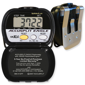 Accusplit Eagle My Goal Goal Setting Pedometer