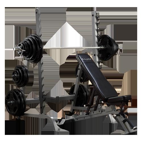 Olympic Bench Press Rack Combo