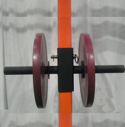 Double Weight Plate Storage Attachment