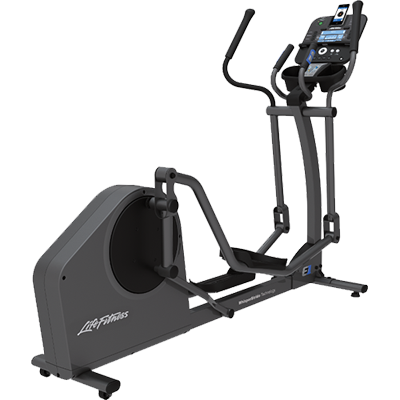 Life Fitness E1 Elliptical Cross Trainer w/ Track+ Console