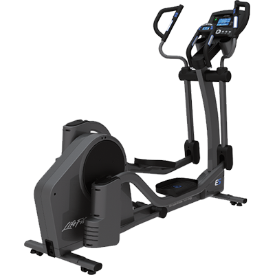 Life Fitness E5 Elliptical Cross Trainer w/ Track+ Console