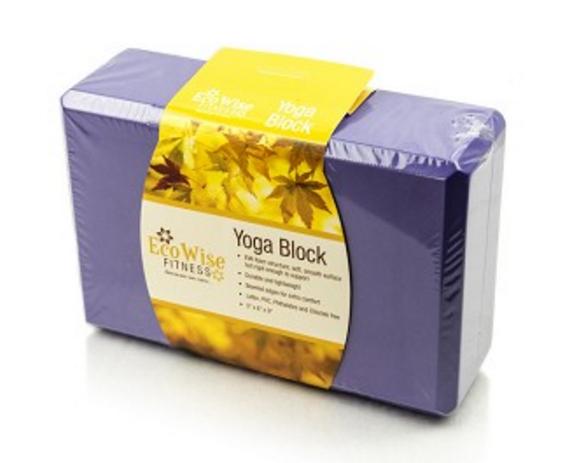 EcoWise Fitness Yoga Block
