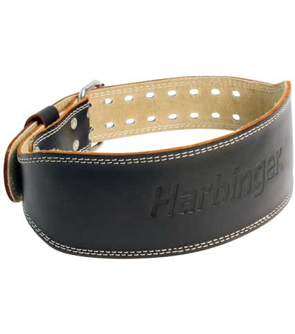 Harbinger Leather Padded Weight Belt