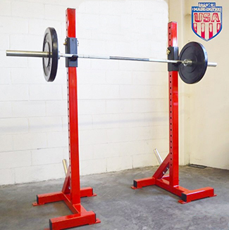 Heavy Duty Individual Squat Stands