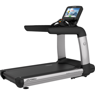 Life Fitness Platinum Club Series Treadmill w/ Discover SE Console