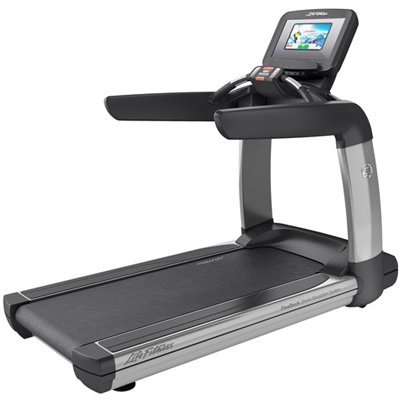 Life Fitness Platinum Club Series Treadmill w/ Discover SI Console