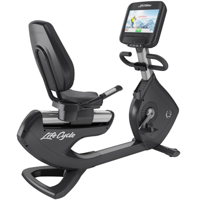 Life Fitness Platinum Club Series Recumbent Lifecycle® Exercise Bike with Discover SE Console