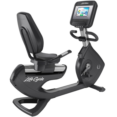 Life Fitness Platinum Club Series Recumbent Lifecycle® Exercise Bike with Discover SI Console