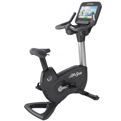 Life Fitness Platinum Club Series Upright Lifecycle® Exercise Bike with Discover SE Console