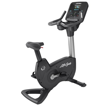 Life Fitness Platinum Club Series Upright Lifecycle® Exercise Bike with Explore Console