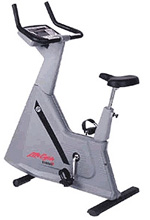 Life Fitness 6500HR Upright Bike (Clearance)