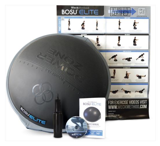 Power Line Power Zone Bosu Elite Ball