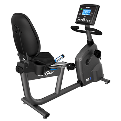 NEW Life Fitness RS3 Lifecycle® Recumbent Exercise Bike