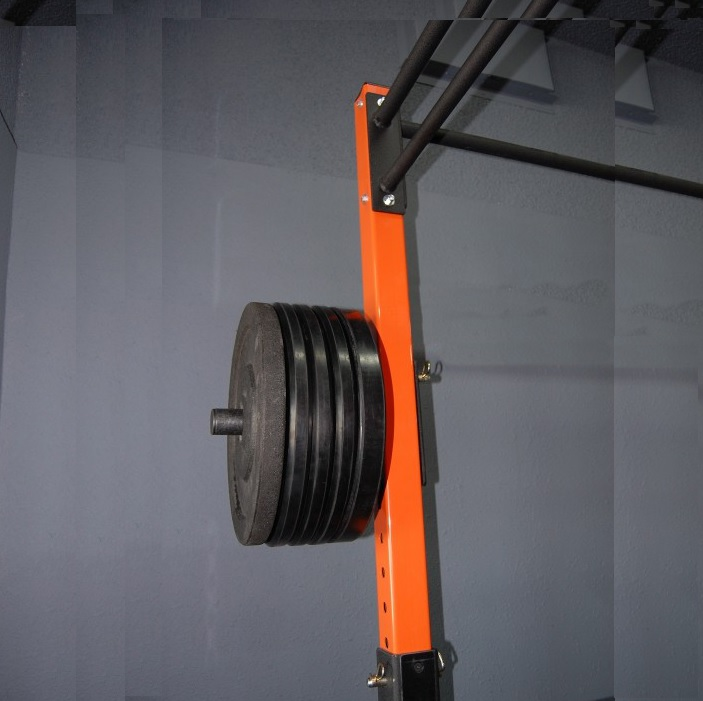 Single Weight Plate Storage Attachment