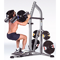 Power Squat/Calf Machine