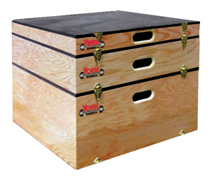 York Stackable Plyo Boxes