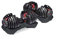 Bowflex® SelectTech® 5-52lb Dumbbells
