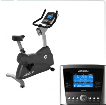 Life Fitness C1 Lifecycle® Exercise Bike w/ Basic Console (Sale)