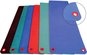 Aeromat Elite Fitness Mat with Hanging Eyelets
