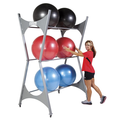 Elite Stability Ball Storage Rack