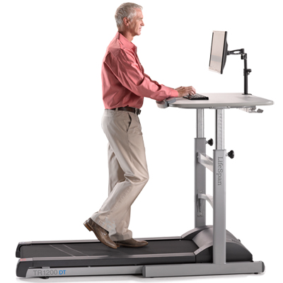 LifeSpan TR1200 DT-5 Treadmill Desk