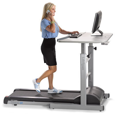 LifeSpan TR800 DT-5 Treadmill Desk