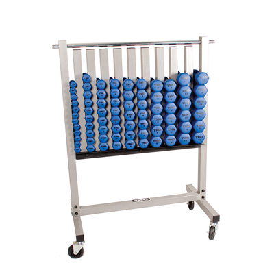 Neoprene Dumbbell Rack