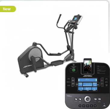 Life Fitness X3 Elliptical Cross Trainer w/ Track Console