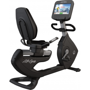 Life Fitness Platinum Club Series Recumbent Lifecycle Exercise Bike with Explore Console - 2