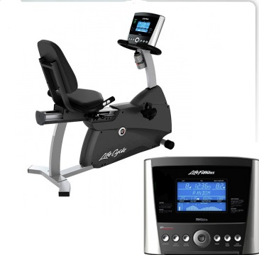 Life Fitness R1 Lifecycle® Exercise Bike with Basic Console (Sale)