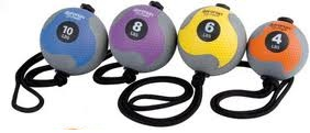 Aeromat Power Rope Medicine Ball
