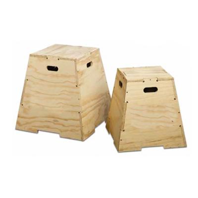 Wooden Puzzle Plyo Box