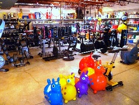 Free Weights and Dumbbells in Our Exercise Equipment Store, 360 Fitness Superstore, San Francisco, California