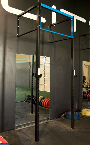 Sf bay area fitness store ft squat pull up wall mount