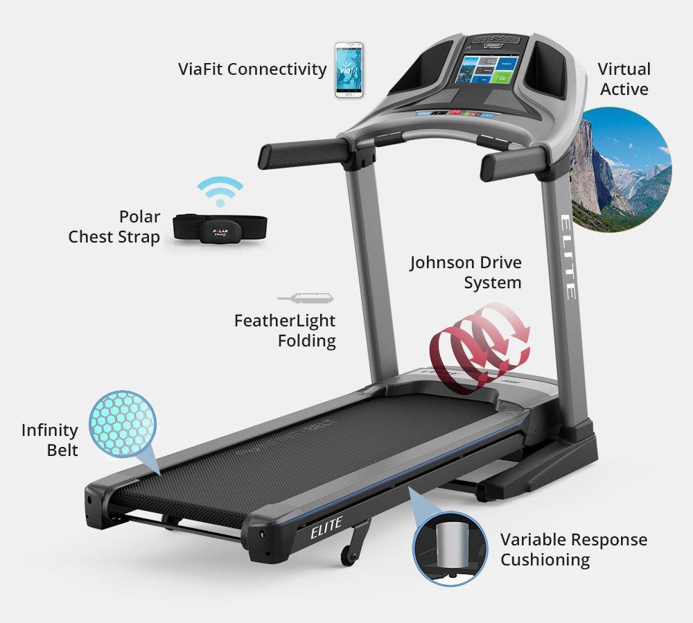 Horizon Elite T9 Treadmill