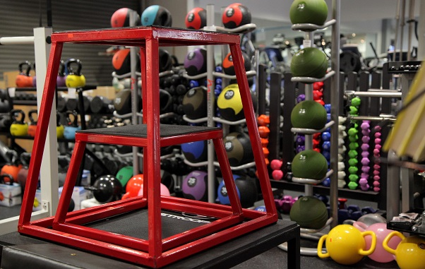360 Fitness has a Huge Inventory of Cross Training / W.O.D. Equipment Equipment, such as Plyoboxes