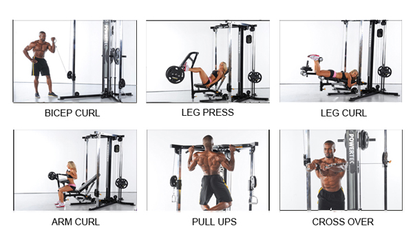Sf Bay Area Fitness Store Powertec Workbench Functional