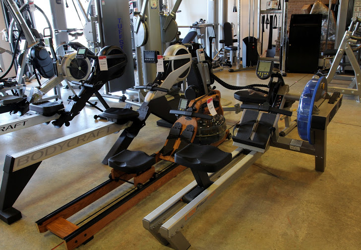 Come In & Try of our Top Brand Rowing Machines, like the Concept 2 - Try Before you Buy