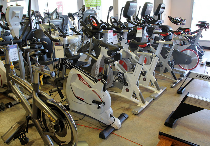 We have the Top Brand Indoor Cycles from Life Fitness, Cycle-Ops, and more.