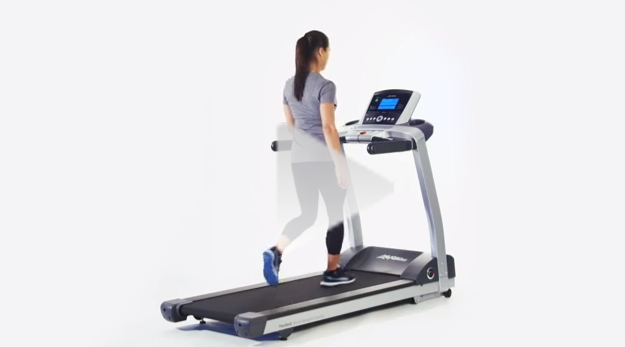 Life Fitness T5 Treadmill Video