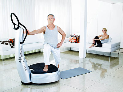 Power Plate vibration zone