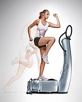 Mercola Power Plate acceleration training